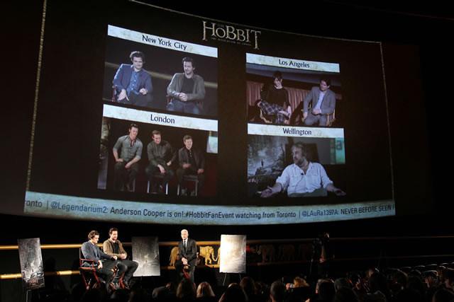 オーランド・ブルームが爆笑裏話を披露!「ホビット」世界規模イベント開催