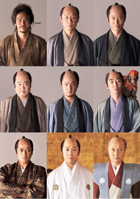 実力派俳優9人がずらり勢ぞろい