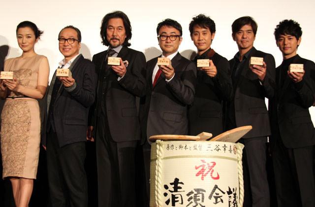 三谷幸喜監督「清須会議」絶好の滑り出し!初日の客席は爆笑の渦