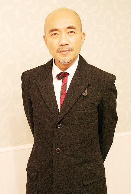 岡倉天心を演じた竹中直人