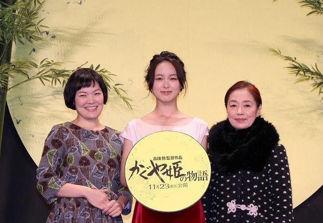 宮本信子「本当はハイジが演じたかった」 ジブリ新作「かぐや姫の物語」で声優初挑戦