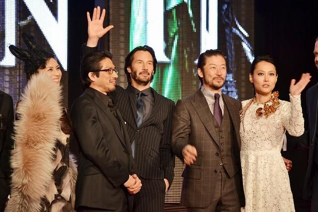 「皆さんと会えて嬉しい!」キアヌ・リーブスの日本語挨拶に会場歓喜!
