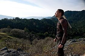 1000年後の地球でサバイバルを 繰り広げるキタイ(ジェイデン・スミス)「アフター・アース」