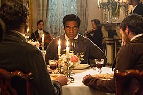 「12 Years A Slave」の一場面「アメリカン・ハッスル」