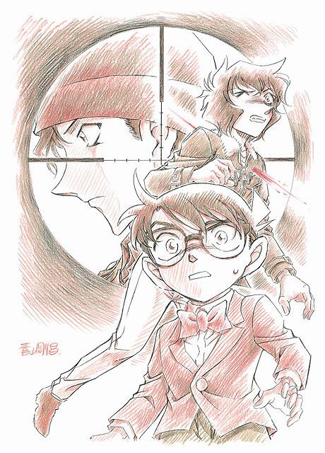 2014年の劇場版「名探偵コナン」は「異次元の狙撃手」 原作人気キャラも初登場