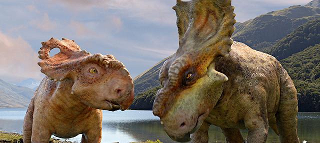 「ウォーキング with ダイナソー」特別映像で恐竜たちの感情表現に迫る