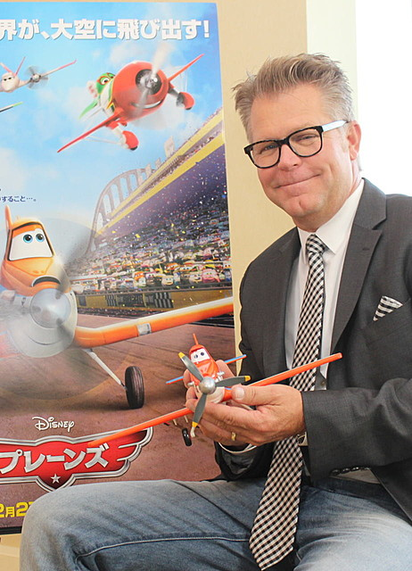 ジブリの飛行シーンを猛勉強!? 飛行機が主人公のディズニー新作「プレーンズ」