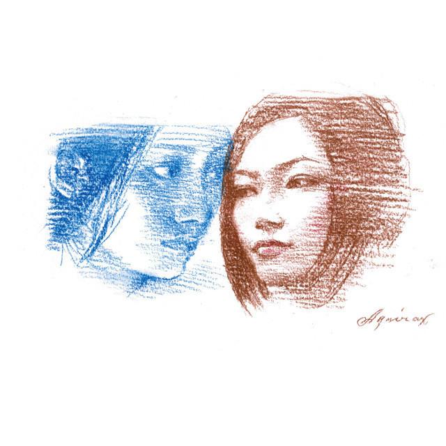 宇野亜喜良氏が本作をイメージした描き下ろしイラスト