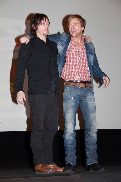 """S・P・フラナリー&N・リーダス「処刑人」""""兄弟""""そろっての初来日に1000人が熱狂 - 画像10"""