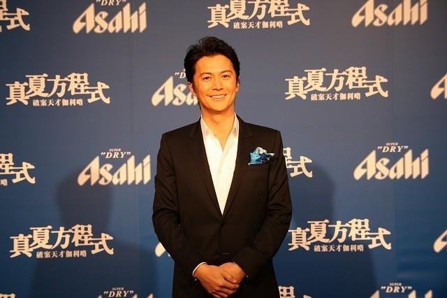 福山雅治、2013年は映画2本で興行収入65億円!「真夏の方程式」「そして父になる」に主演