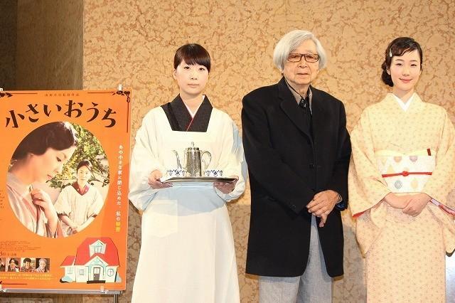 山田洋次監督、日本橋三越に強い思い入れ 「小さいおうち」コラボカフェが開店