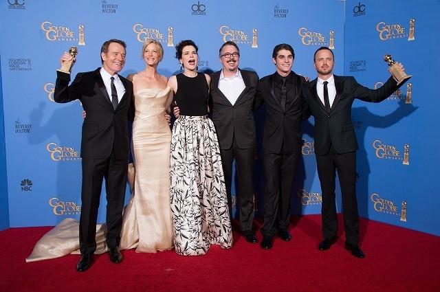 ゴールデン・グローブ賞「ブレイキング・バッド」がドラマ部門作品賞、主演男優賞を受賞
