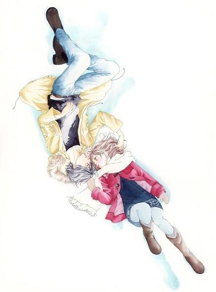 咲坂伊緒原作「アオハライド」TVアニメ化決定!メインキャストに内田真礼、梶裕貴