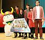 「偉大なる、しゅららぼん」仲良し4人組、「グダグダ、ユルユル」の舞台挨拶を 岡田将生が謝罪