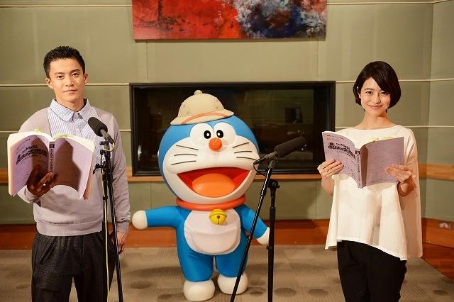小栗旬&夏目三久、「映画ドラえもん」最新作にゲスト声優で出演!