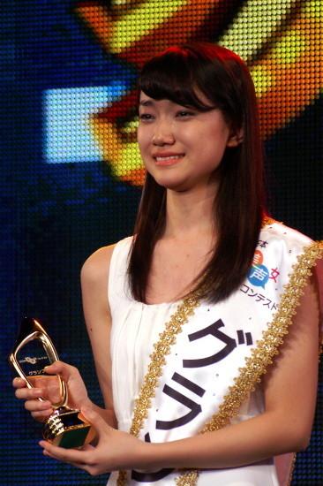 グランプリに輝いた 17歳の辻美優さん