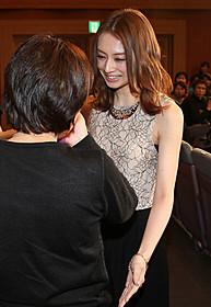 小柳つかささんの母・萩田知子さん から声をかけられた北川景子「抱きしめたい 真実の物語」