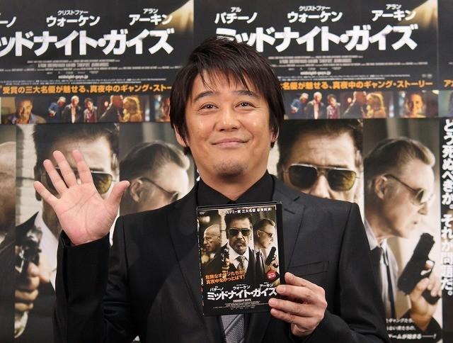 坂上忍「こんなオジサンになりたい」 いぶし銀俳優共演の米映画PR