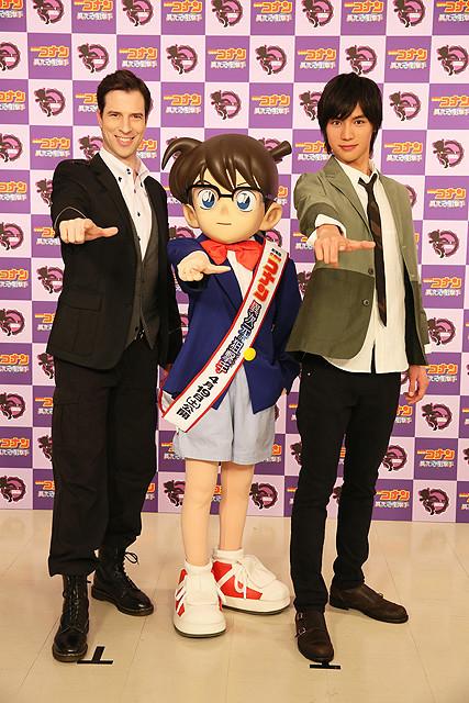 福士蒼汰「名探偵コナン」最新作で声優初挑戦 英語のセリフも披露