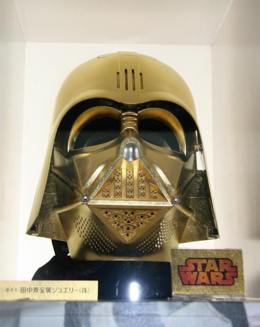 金箔のダース・ベイダーマスク、DISNEY EXPOで国内初公開!