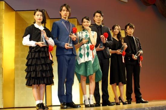 伝統のエランドール賞、若手男女6人受賞 天野アキ&大和田常務降臨も