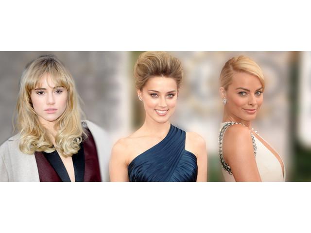 イケメン人気俳優を落とした、ブレイク必至のブロンド美女たち