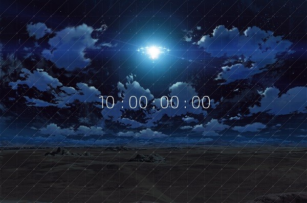 水島精二×虚淵玄「楽園追放」 謎のカウントダウン開始