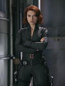 スカーレット・ヨハンソンが演じるブラック・ウィドウ「アベンジャーズ」