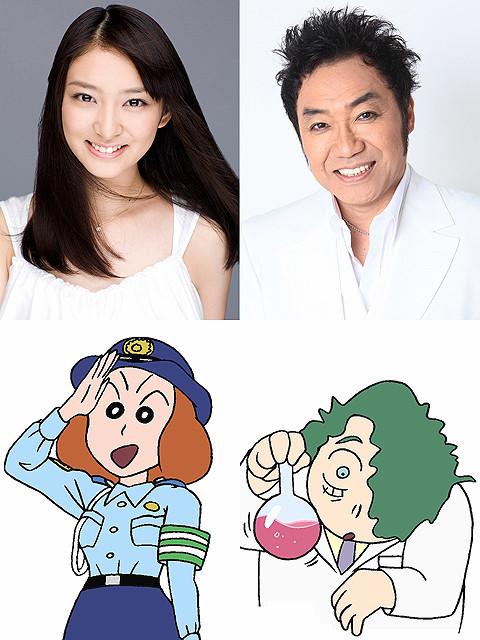 武井咲、「映画クレヨンしんちゃん」で声優初挑戦 トラブルメーカーの警察官に