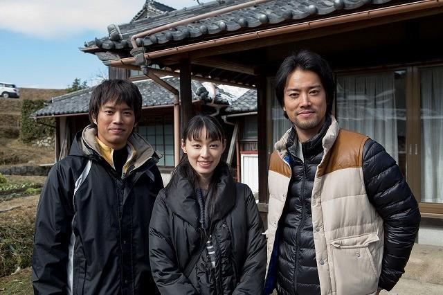 栗山千明、6年ぶり映画主演で初の官僚役 桐谷健太&三浦貴大と共演