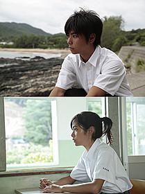 主演に抜てきされた村上虹郎(上)と吉永淳(下)「2つ目の窓」