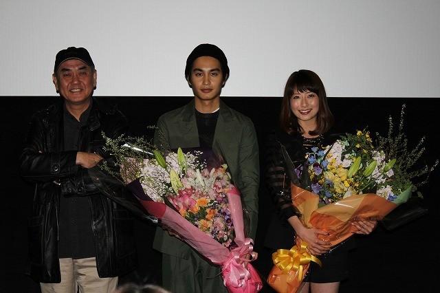 中村蒼&佐々部監督、男前な大塚千弘に最敬礼