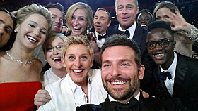 豪華スターが集まったオスカー記念写真「それでも夜は明ける」