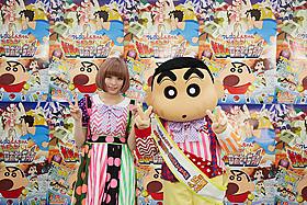 テレビ版に続き、きゃりーぱみゅぱみゅが 「しんちゃん」主題歌担当「映画クレヨンしんちゃん ガチンコ!逆襲のロボとーちゃん」