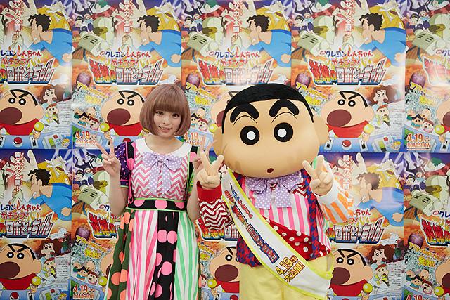 きゃりーぱみゅぱみゅ、「クレヨンしんちゃん」で映画主題歌初挑戦