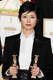 最優秀主演、助演女優賞をダブルで獲得「さよなら渓谷」