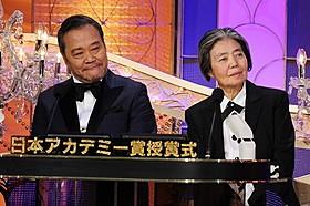 貫禄の司会ぶりをみせた西田敏行&樹木希林「わが母の記」