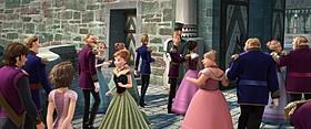「アナと雪の女王」にラプンツェルが登場 (C)2014 Disney. All Rights Reserved.「アナと雪の女王」