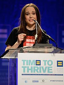 エレン・ペイジのカミングアウトは名スピーチも話題に 写真:AP/アフロ「アナザー・カントリー」