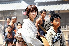 神谷薫役に再挑戦した武井咲「るろうに剣心」