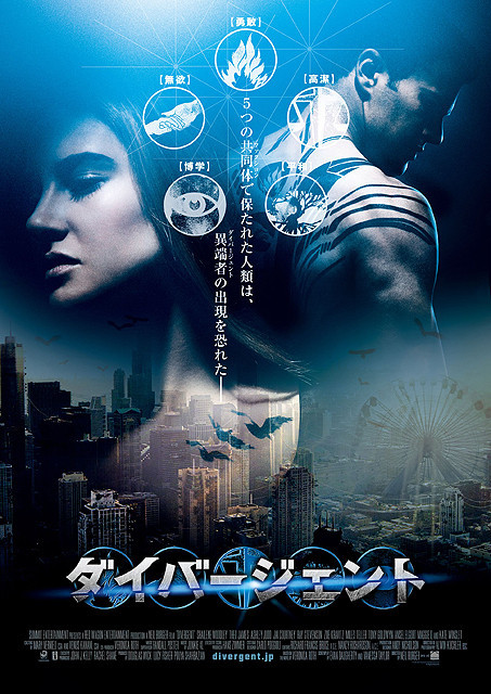 米SNSで今年期待の映画1位「ダイバージェント」7月日本公開決定