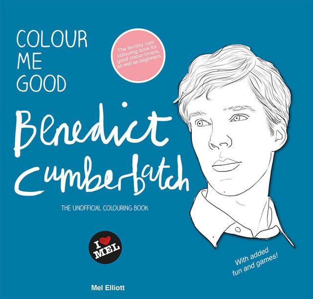 ベネディクト・カンバーバッチの塗り絵が発売