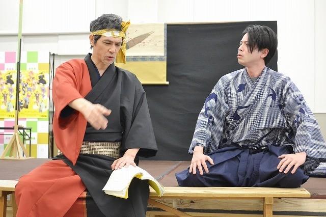 座長・田中麗奈、稽古場はまさに「きりきり舞い」