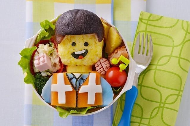 「LEGOムービー」人気キャラクターフィギュアがキャラ弁に!