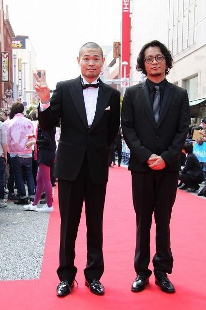 田中聖、笑顔のレッドカーペット「楽しかった」