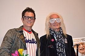 米コメディアンのジョニー・ノックスビルと内田裕也「ジャッカス クソジジイのアメリカ横断チン道中」