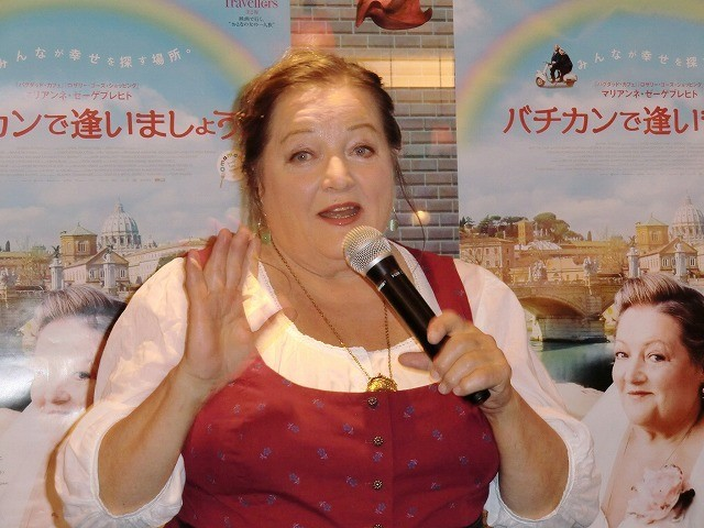 「バグダッド・カフェ」女優マリアンネ・ゼーゲブレヒトが来日