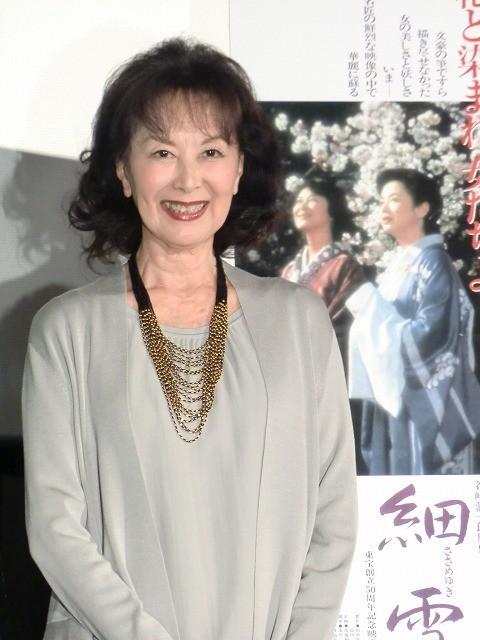 市川崑監督の思い出語った岸惠子、自著の映画化にも意欲