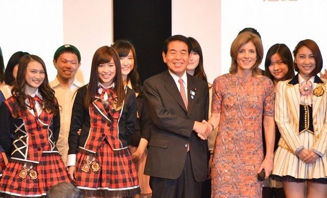 キャロライン・ケネディ駐日米国大使や「JKT48」が日本人学生の海外留学を応援!