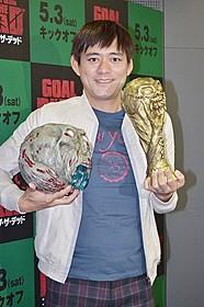 ナレーションに挑んだ博多華丸「ゴール・オブ・ザ・デッド」